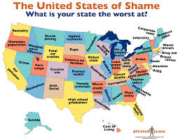United States Map By Population by The Best Worst U S Map Ever The Washington Post