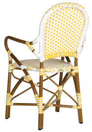 Indoor Outdoor Furniture by Indoor Outdoor Armchair Wicker Seat Safavieh Com