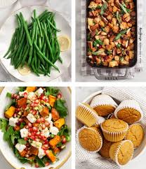 vegetarian thanksgiving sides and lemons
