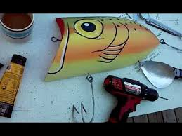 wall large fishing lure