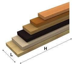mensole color ciliegio mensole in legno ad alto spessore su misura