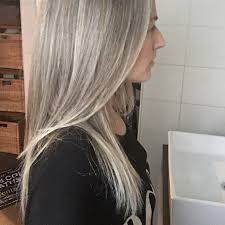 blonde hair with silver highlights grey is the new blonde silver highlights in my grey long and