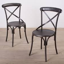 dining room awesome black metal dining chair creating an urban