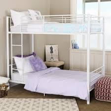 White Metal Bunk Bed White Metal Bunk Bed Free Shipping Today Overstock
