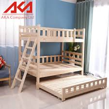 Hot Sale Kids Furniture Wood Children Double Layer Bunk Bed Buy - Kids wooden bunk beds
