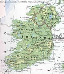 Map Ireland Maps Map Ireland