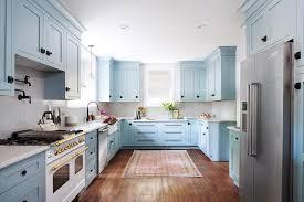 light blue cabinets kitchen 53 blue kitchens blue kitchen design ideas hgtv