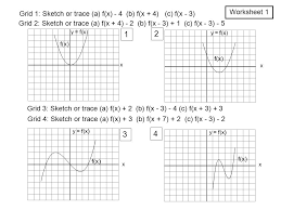 f x a x y u003d f x graphs of related functions 1 f x u003d x 2 f x
