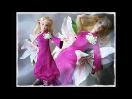 barbie doll how to make easy dress magenta youtube
