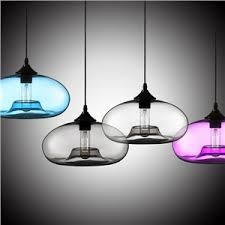 glass pendant lights colored blown glass pendant lighting homelava