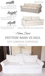 Ektorp Sofa Bed Slipcover by Pottery Barn Sofa Slipcover Washing Instructions Best Home