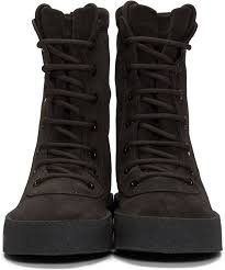 womens boots season trend yeezy season 2 brown crepe boots womens boots