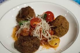 vegan mushroom gravy recipe dishmaps eggplant mushroom u201cmeat u201dballs