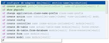 zend framework 2 override layout zend framework tool usage with command line tool support phpstorm blog