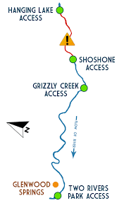 Glenwood Springs Colorado Map by Glenwood Canyon Upper Colorado River Rafting Wilderness Aware
