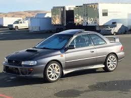 subaru rsti coupe fs usa ca ca 1999 sti swapped 2 5rs coupe jdm cars for sale