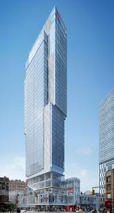 hotels breaks ground on a new glass tower in new york