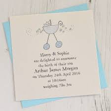 baby announcement cards eight birth announcement cards by eggbert