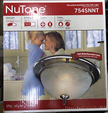 nutone bathroom exhaust fan ebay