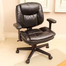 Faux Leather Rolling Office Chair by Office Depot  EBTH