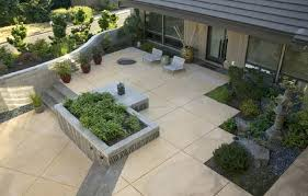 Stamped Concrete Backyard Ideas Backyard Cement Design U2013 Mobiledave Me