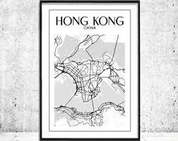 printable maps hong kong hong kong map print hong kong print hong kong city map hong