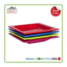horderve plates square melamine solid color appetizer plates bestwares dinnerware