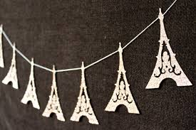 Eiffel Tower Decorations Eiffel Tower Garland Paris Decoration Diy Garlands For 2014