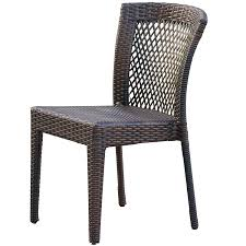 Overstock Patio Dining Sets by Amazon Com Dana Point Outdoor Patio Furniture Brown Wicker