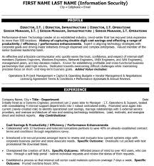 Information Security Resume Template Information Technology Resume Examples It Resume 11 Amazing It