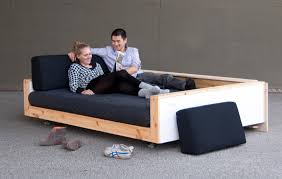 bett als sofa ein do it yourself sofa für single wohnungen abb morgens aronal