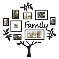 brilliant 50 family tree picture frame wall hanging design ideas