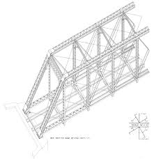 free plans baltimore u0026 ohio pratt truss bridge no 451 1 u2013 free model