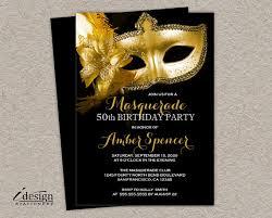 cardsadult mardi gras mascarada invitación de 50 cumpleaños invitaciones mardi