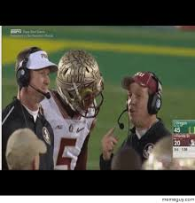 Calm The Fuck Down Meme - jameis calm the fuck down or you are going to the bench meme guy