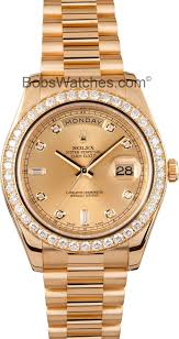 rolex presidential day date ii save up to 50 at bob s watches