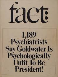 Armchair Psychology Definition Psychiatrists Can U0027t Tell Us What They Think About Trump