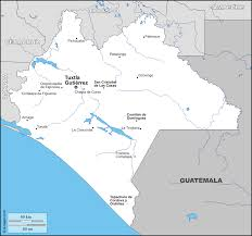 louisiana map city names chiapas free map free blank map free outline map free base map