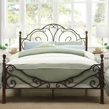 Bed Frame Post by Bed Frame With Hooks For Headboard And Footboard Best Home Decor