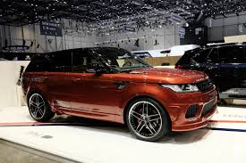 custom 2016 land rover 2016 range rover sport ac schnitzer gives the range rover sport