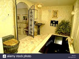 Usa Whirlpool Tub In Custom Luxury Interiors Bathroom In A Stock Usa House Interior Design