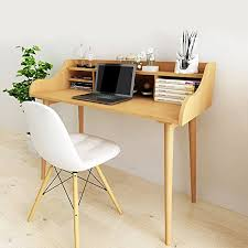 Solid Wood Desks For Home Office Soges Computer Desk 47 Solid Wood Desk Home Office Des Gift