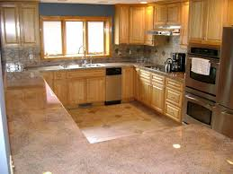 beauteous brown color kitchen concrete countertops come with brown