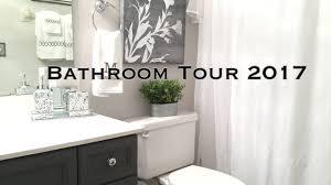 bathroom decorating ideas u0026 tour on a budget video