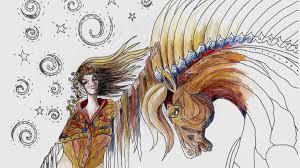 spirit horse coloring book by diana lancaster u2014 kickstarter