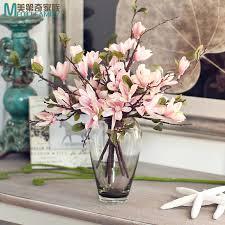 fleurs dans une chambre épinette magnolia fleur artificielle simulationliving chambre