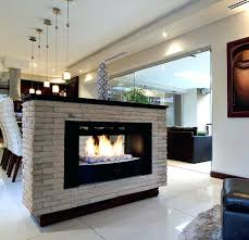 Indoor Outdoor Wood Fireplace Double Sided - two sided fireplace 20 g eous two sided fireplaces for your ious