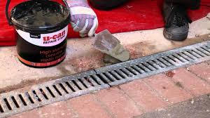Concrete Step Resurfacing Products by How To Repair Broken Steps With U Can High Strength Concrete