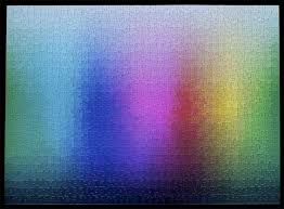 Cmyk Color Spectrum Puzzle 1000pc Cmyk Gamut Jigsaw Clemens Habicht People Of Print