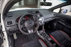 subaru wrx cvt interior 2015 subaru wrx sti first drive motor trend